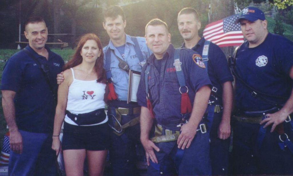 9/11 Memorial Run with NYC Firefighters 2002