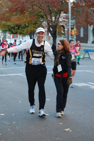 Coach Mindy supports runner in NYC Marathon 2010
