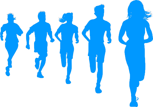 Shadow runners-website blue