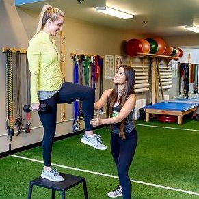 Trainer showing Runditioning